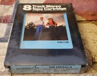 """The Kendalls 8-Track Tape (Heart Of The Matter) """"I'm Already Blue"""" - Sealed/NOS"""