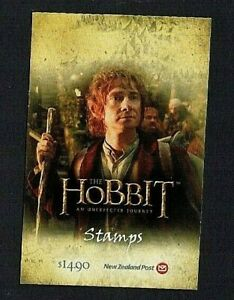 New Zealand: 2012, The Hobbit, An Unexpected Journey (1st issue) Booklet, SB164