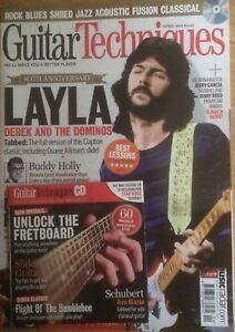 Guitar Techniques magazine & CD: April 2011