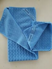 NEW Norwex BLUE OCEAN WAVE Kitchen Towel & Cloth Set Microfiber BacLock Limited