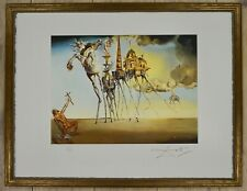 "Salvador Dali ""The temptation of St. Anthony"" Lithograph Limited 2000 pcs."