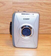 **FOR PARTS / REPAIR** Genuine Coby CX-49 AM/FM Radio & Cassette Player *READ*