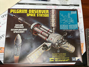 MPC Pilgrim Observer Manned Space Station 1/100 No.9001