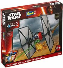 Star Wars EasyKit VII First Order Special Forces Tie Fighter Plastic Kit 1:35