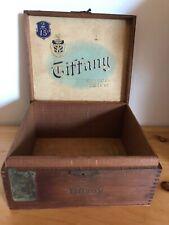 Vintage Tiffany Seleccion De Luxe Cigar Box