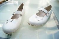 RICHTER Damen Comfort Sommer Schuhe Sandalen Klett V Gr.38 Leder weiß leicht