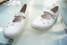 RICHTER Damen Comfort Sommer Schuhe Sandalen Klett V Gr.38 Leder weiß leicht #h