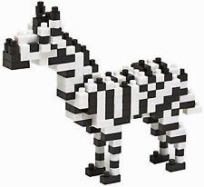 *NEW* NANOBLOCK Zebra - Nano Block Micro-Sized Building Blocks NBC-105 RETIRED