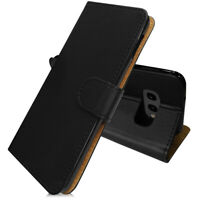 SDTEK PU Leather Wallet Flip Cover Case for Samsung Galaxy S10e (Black)