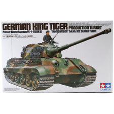Tamiya King Tiger Tank Model Set (Scale 1:35) 35164 NEW