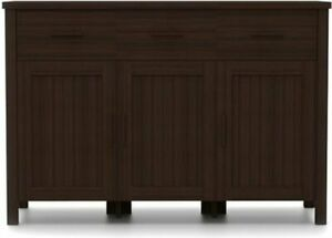 "Urban Ladder Norland 47"" Wide Sideboard (Finish : Dark Walnut)"