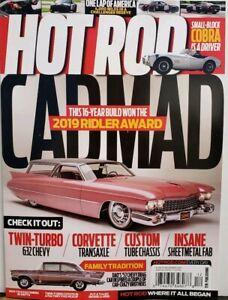 Hot Rod Dec 2019 Ridler Award Cadillac Corvette Cobra FREE SHIPPING CB