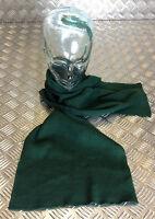 Genuine German Army Issue Bund Plain Green 100% Wool Scarf  Very Warm Scarves