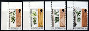 BRITISH HONDURAS QE II 1970-71 Hardwoods + MiniSheet SG 291 to SG MS 319 MNH