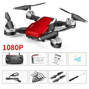 360 Degree Foldable WIFI FPV RC Drone 1080P HD Camera LED Lights Quadcopter