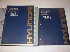 Hyundai Robex 450-3 , 450LC-3  Excavator Parts & Operator's  Manuals