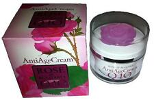 Anti Age Cream With Natural Rose Water,Vitamin E and Q10 Rose of Bulgaria 50 mL