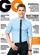 GQ Magazine Mexico,Matthew McConaughey,Elvis Costello,Izabel Goulart NEW