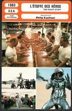 L'ETOFFE DES HEROS - Shepard,Glenn,Harris (Fiche Cinéma) 1983 - The Right Stuff