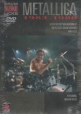 Metallica Drum Legendary Licks 1983-1988 RAINURES & remplit de scolarité apprendre DVD