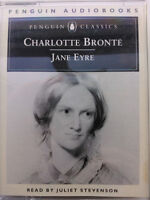 CHARLOTTE BRONTE.JANE EYRE.READ BY JULIET STEVENSON.2 X TAPE ABRIDGED 3 HRS