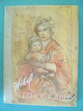 Hibel Lithographs 1st/1st Plotkin Artist Process Art Coffee Table Book ~ SIGNED