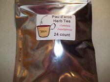 Pau d Arco Herb Tea Bags (Tabebuia impetiginosa)  24 count