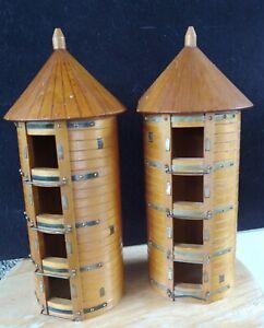 Antique Salesman Sample? Silos Wooden
