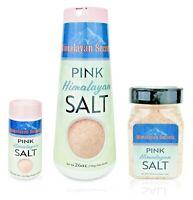 Fine Grain Shakers - Himalayan Gourmet Pink Salt - By Himalayan Secrets - Kosher