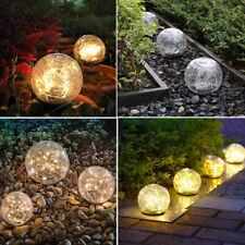 Modern Garden Outdoor Lighting Decor, Landscape Solar Round Ball LED lamp