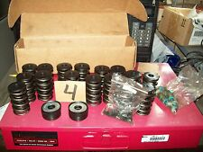 Flat tappet valve spring kit/retainers/locks/shims/seat locaters/new seals