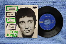 TOM JONES / EP DECCA 457.088 / Recto-Verso 2 / 1965 Réassort BIEM 11-1965 ( F )