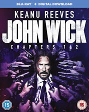 JOHN WICK - CHAPTERS 1 &  2  **BRAND NEW BLU-RAY BOXSET ***