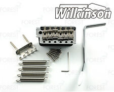 Wilkinson ® vintage 1954 guitar tremolo bridge replica WVC chrome finish