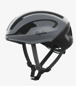 Rapha + POC OMNE AIR Spin- US LARGE- Gray Pinstripe (Carbon Gray)