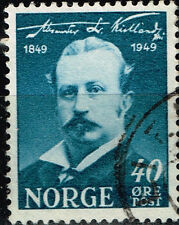 Norway Famous Writer Alexander Kielland stamp 1949 #296