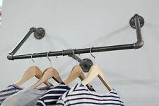 Garderobe Kleiderhaken Kleiderstange Industriedesign  Stahlrohr