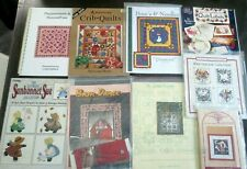 New ListingLot of 9 Designer Quilt Quilting Sewing Patterns kits Book new uncut Sale
