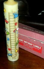 Birthday Candle Kitsch Lillian Vernon Vintage Made In Hong Kong purchased 1986