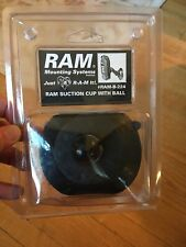 """RAM Mounts RAM-B-224 Rubber Suction Cup, 4"""" Base, 1"""" Ball Fast Shipping Look"""