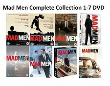 Mad Men Complete Collection Series 1-7 DVD Season 1 2 3 4 5 6 7 UK Rel UK R2 New