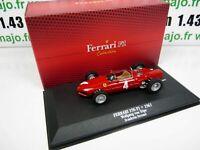 F1F3T voiture atlas 1/43 F1 Ferrari Formule 1 champion : 156 F1 1961 W VON TRIPS