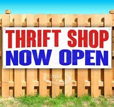 Thrift Shop Now Open Advertising Vinyl Banner Flag Sign Many Sizes
