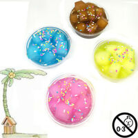 4 Colors Slime Crystal Cotton Mud Ice Cream/Coconut /Candy Anti-stress Toys 2018