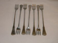 7 ONEIDA COMMUNITY PATRICK HENRY COCKTAIL/SEAFOOD FORKS-STAINLESS STEEL