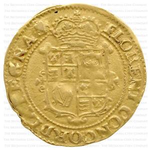 1629 Charles I Hammered Gold Unite - 'Heart' over 'Anchor' mintmark RARE!