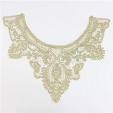 1 Stk Lace Gold Spitze Borte Handarbeit Applikation Hochzeit Kleid Deko nähen