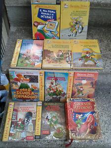 Lotto Geronimo Stilton 11 libri diverse collane