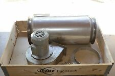 """JBT FoodTech 11.75"""" x  32"""" Insulated Exhaust Chute w/ Blower 3 Phase 230/460V"""