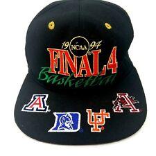 Vintage 1994 NCAA Final 4 Basketball Hat Black Snap Back
